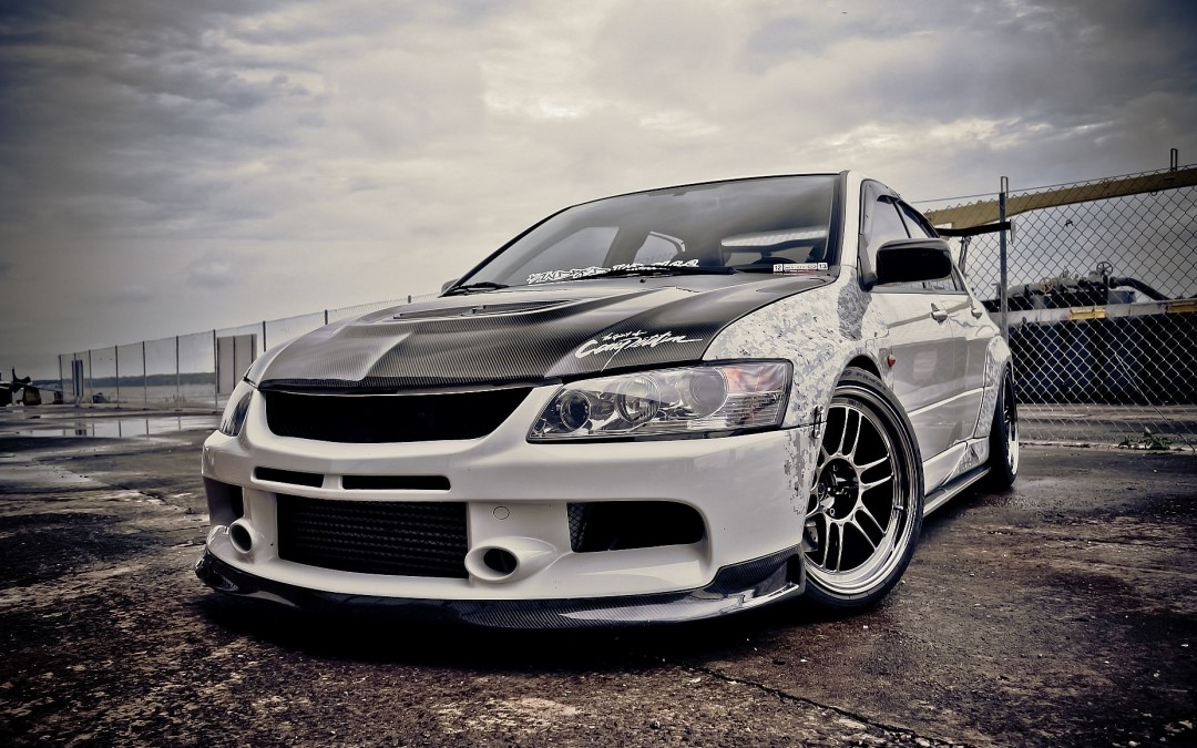 enkei wheels lancer evo feature car rollingstock. Black Bedroom Furniture Sets. Home Design Ideas