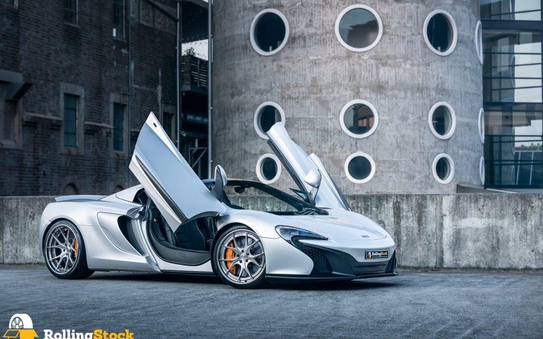 Strasse SM5R Deep Concave FS McLaren 650S Wheels